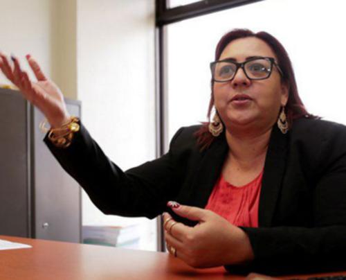 Ana Elena Guzmán ha sido designada como primera secretaria del MP en sustitución del ahora Ministro de Gobernación Francisco Rivas. (Foto: Deguate.com)