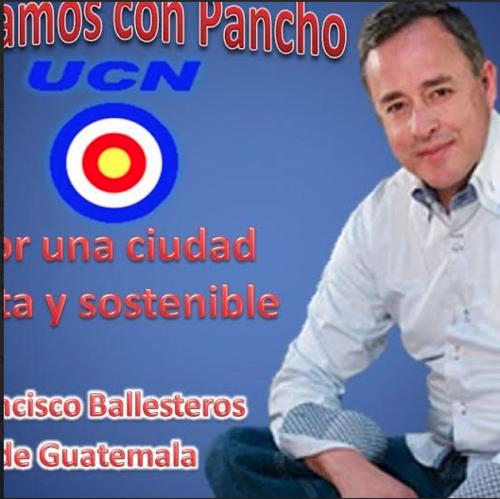 José Ballesteros fue también candidato para la alcaldía de la ciudad en 2011 por la UCN. (Foto: Facebook/José Ballesteros)