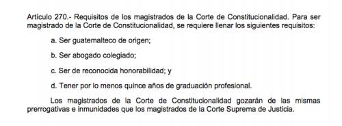 Estos son los requisitos que deben cumplir los aspirantes a magistrado de la CC.