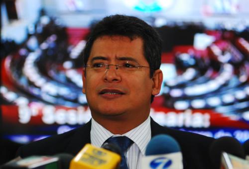 El diputado Marvin Orellana no llegó a la primera sesión de la nueva legislatura y ya es tránsfuga, se incorporó a la bancada Alianza Ciudadana. (Foto: Congreso)