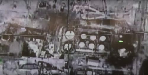 Bombardeo ruso en Siria. (Foto: Imagen tomada de YouTube de AFP)