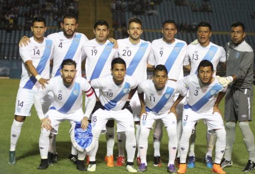 Así alineó la selección de Guatemala frente a Honduras esta noche el Mateo Flores.