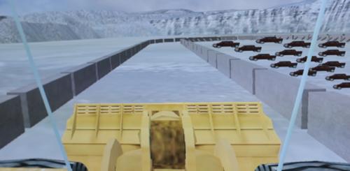 El simulador ofrece distintos escenarios virtuales que son retos para los conductores. (Foto: Soy502).