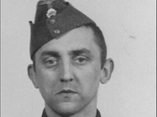 Imagen de Hubert Zafke cuando integraba las filas de la guardia personal de Adolfo Hitler. (Imagen: elespañol.com)