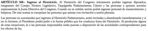 La Ley Orgánica del Congreso prohibe que los diputados lleven a sus hijos al hemiciclo.