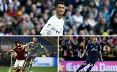 Cristiano Ronaldo, Sergio Ramos y Pepe, los tres referentes que se irán del Real Madrid a final del temporada.