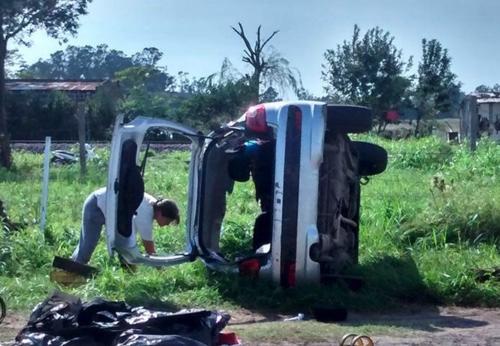 Durante el asalto, uno de los delincuentes murió. (Foto: Argentina Inside News)