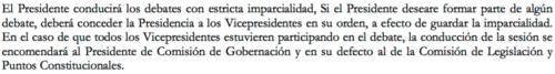 Artículo 83, inciso C. Ley Orgánica del Congreso