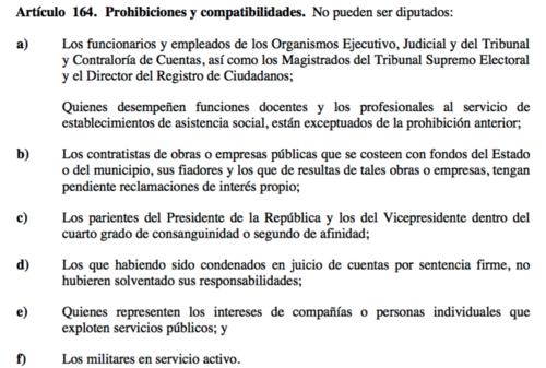 Fuente: Constitución Política de la República
