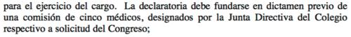 Artículo 165, inciso I de la Constitución Política de la República.