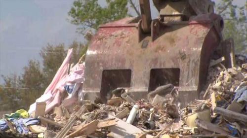 La vivienda que debía ser demolida está localizada a una cuadra de la de Lindsay Diaz. (Foto: Sky News)