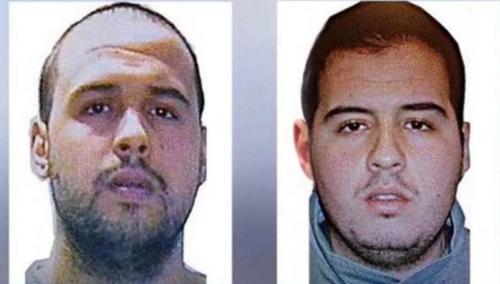 Los hermanos Khalid El Bakraoui (i) e IBrahim El Bakraoui.
