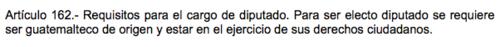 La ley no requiere que los diputados tengan algún grado académico. (Fuente: Constitución Política de la República)