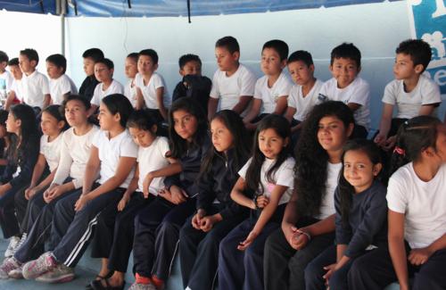 La capacitación se empezó con alumnos de primero a tercero primaria. (Foto: Digef)