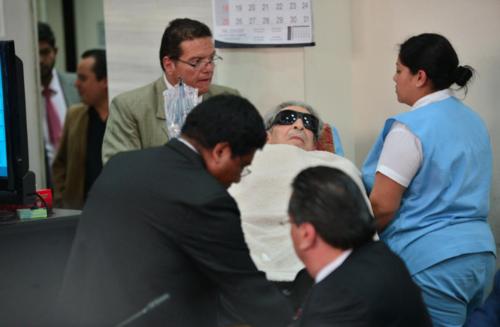 La salud de Efraín Ríos Montt está afectada concluyeron médicos del Inacif. (Foto: Archivo/Soy502)