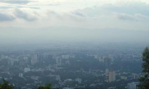 Guatemala ocupa el tercer puesto desde 2014, cuando el registró de microgramos por metro cúbico era de 33. (Foto: Archivo/Soy502)