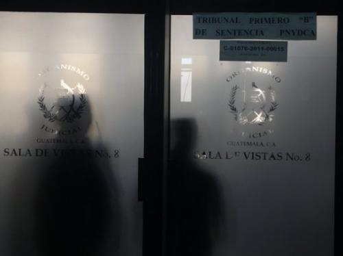 El juicio se desarrollaba a puerta cerrada.
