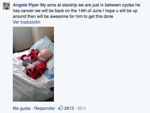 Una de las publicaciones en el Facebook de Lloyd. (Foto: Facebook)