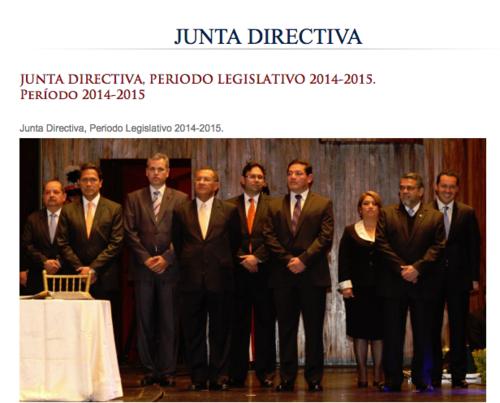 La Junta Directiva del Congreso de 2014 también es señalada de solicitar plazas de manera irregular.