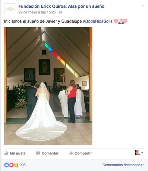 A través de sus redes sociales la Fundación invita a patrocinar deseos. (Foto: Tomado de Facebook)