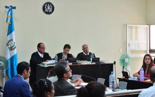 El Tribunal Octavo se excusó luego que su imparcialidad fuera cuestionada por los abogados defensores. (Foto: Archivo/Soy502)