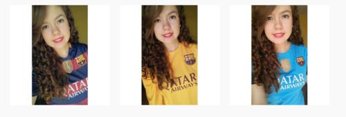 Sophia del Cid demuestra en su Instagram que es fiel seguidora del FC Barcelona. (Foto: Instagram)