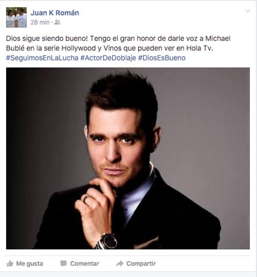 Con este anuncio, Juan Carlos reveló su nuevo proyecto del que se siente agradecido. Se espera que el episodio donde presta su voz a esta celebridad se estrene en un par de semanas.