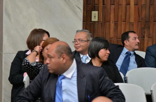 Roberto Stalling es señalado por el cobro de un soborno a cambio de una medida sustitutiva otorgada por su mamá la jueza Marta Sierra de Stalling. (Foto: Wilder López/Soy502)