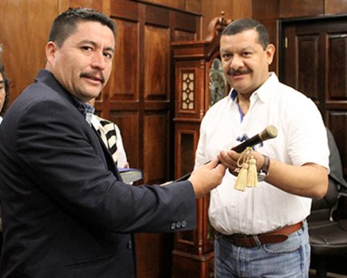 En febrero de 2015, Tono Coro renunció al cargo de jefe edil de Santa Catarina Pinula, para empezar una campaña electoral en busca de la alcaldía capitalina. (Foto: Municipalidad de Santa Catarina Pinula).