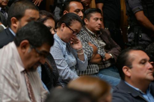 """Judith Ruiz declaró que la confianza que la exvicepresidenta le tenía era tal que hasta sus hijos le llamaban la otra """"mamá"""". (Foto: WIlder López/Soy502)"""
