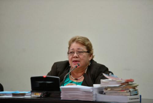 Aunque se presentó a la Torre de Tribunales, la jueza Sierra no acudió al Juzgado debido a las dificultades de salud que presenta. (Foto: Archivo/Soy502)