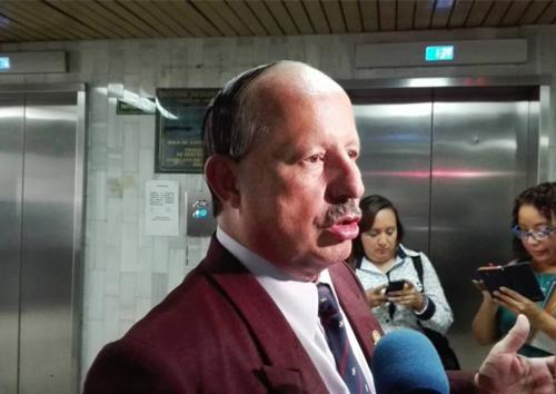 Hiram Sosa es el abogado que ha representado a Serrano Elías en Guatemala. (Foto: Marcia Zavala/Soy502)