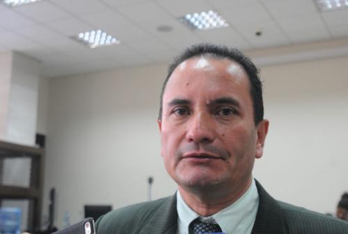 El abogado defensor Mario Hernández resaltó que ya se había accionado en múltiples ocasiones contra la declaración que hizo el colaborador eficaz. (Foto: Alejandro Balán/Soy502)