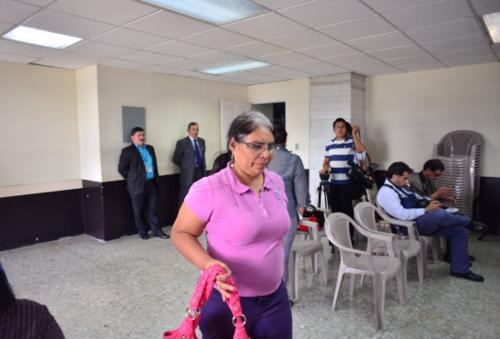 Felicita Romero, confirmó ser amiga de Reinoso y haberle firmado los recibos como un favor. (Foto: Archivo/Soy502)