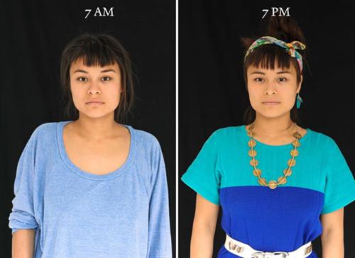 Algunas mujeres parecen lucir casi igual al momento de levantarse que al final del día. (Foto: Cultura Inquieta)