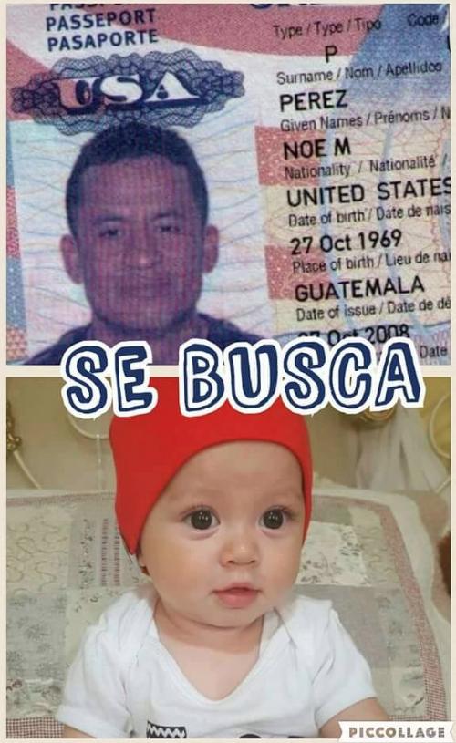 Allegados a Reyes han divulgado la fotografía del menor y del padre para ayudar a localizarlos. (Foto: Facebook)