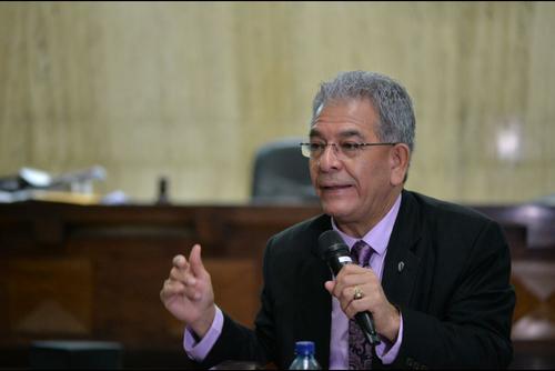 El juez Miguel Ángel Gálvez esta a cargo de la resoluciones de los casos emblemáticos de corrupción contra funcionarios del Partido Patriota. (Foto: Archivo/Soy502)