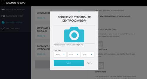 Finalmente y luego de cargar toda la documentación se debe inscribir en la parte de facturación y listo. (Foto: Uber.com)