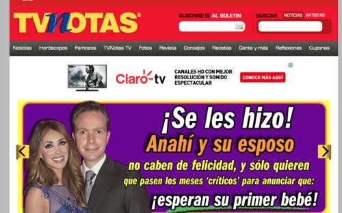 Anahí solo esperará que pasen los meses críticos para anunciar su embarazo. (FotoTvNotas.com)