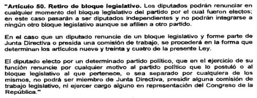 Este artículo de la Ley Orgánica del Congreso podría ser utilizado para separar de la bancada oficial a Patricia Sandoval. (Foto: José Miguel Castañeda/Soy502)