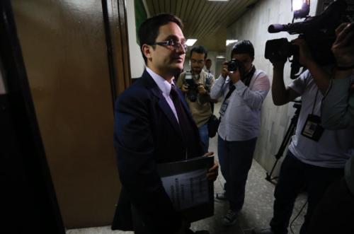 El titular de la FECI ratificó la solicitud de antejuicio contra el diputado Kestler. (Foto: Jesús Alfonso/Soy502)