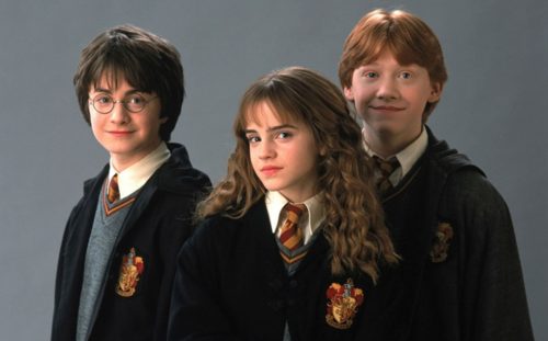 Así se veían los tres actores principales para la primera película en 2001 (Imagen/TheSun.uk)