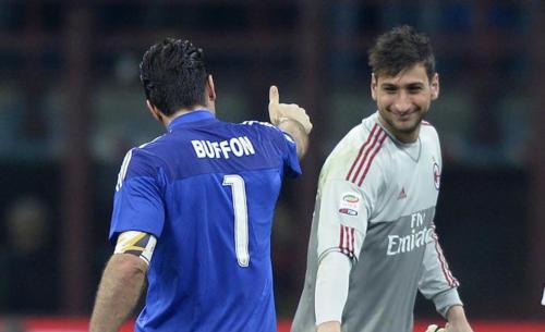 Gigio Donnarumma hizo historia al reemplazar a su ídolo contra Francia (Foto: Gazzetta.it)