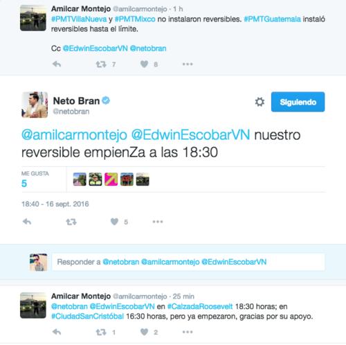 Esta es la conversación virtual entre Montejo y Bran. (Foto: Soy_502)