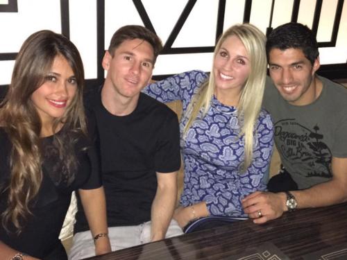 Antonella, Leo, Sofía y Luis, todos mantienen una gran relación (Foto: Instagram)