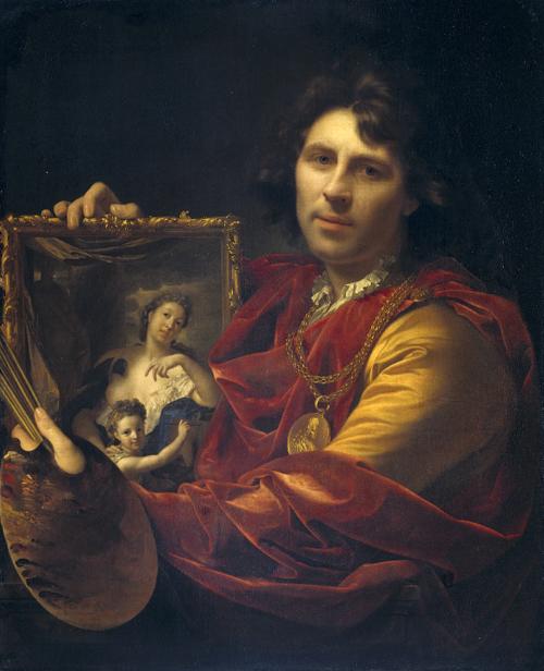 La pintura de Adriaen Van Der Werff. (Rijksmuseum, Amsterdam)