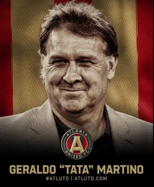 El anuncio oficial sobre el la contratación. (Foto: Atlanta United)