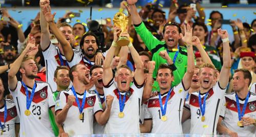 La selección alemana ganó el último Mundial, en Brasil 2014. (Foto: FIFA.com)