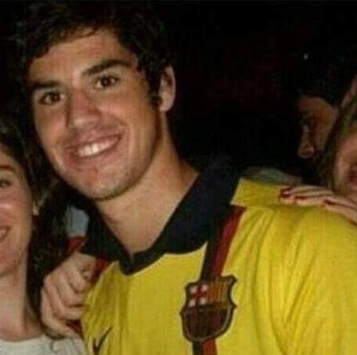 Isco con su camisa del Barcelona. (Foto: BarcaBlog.com)