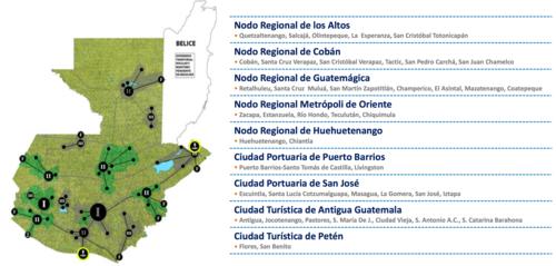 Estas son las ciudades intermedias que se han identificado por parte de FUNDESA. Llevan dos años trabajando con seis de ellas. (Foto: Captura de Pantalla/FUNDESA)